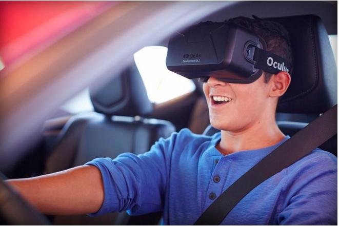 Oculus Rift ฝึกงดใช้มือถือขณะขับรถ
