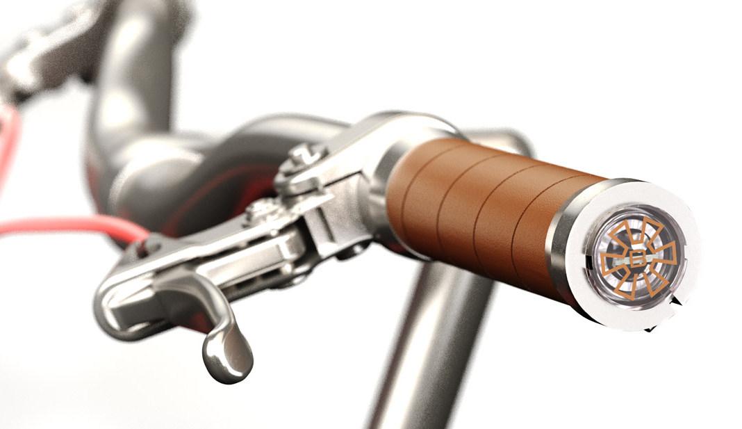 แฮนด์จักรยานบอกทาง