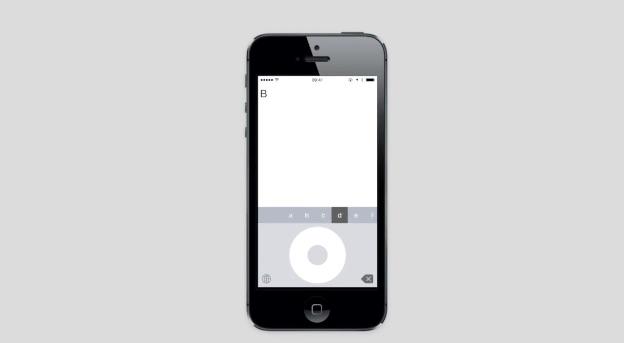 เปลี่ยนคีย์บอร์ดไอโฟนให้เป็น Click Wheel ไอพอด