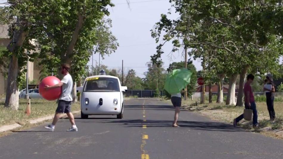 รถไร้คนขับของ Google พร้อมวิ่งบนถนจริง
