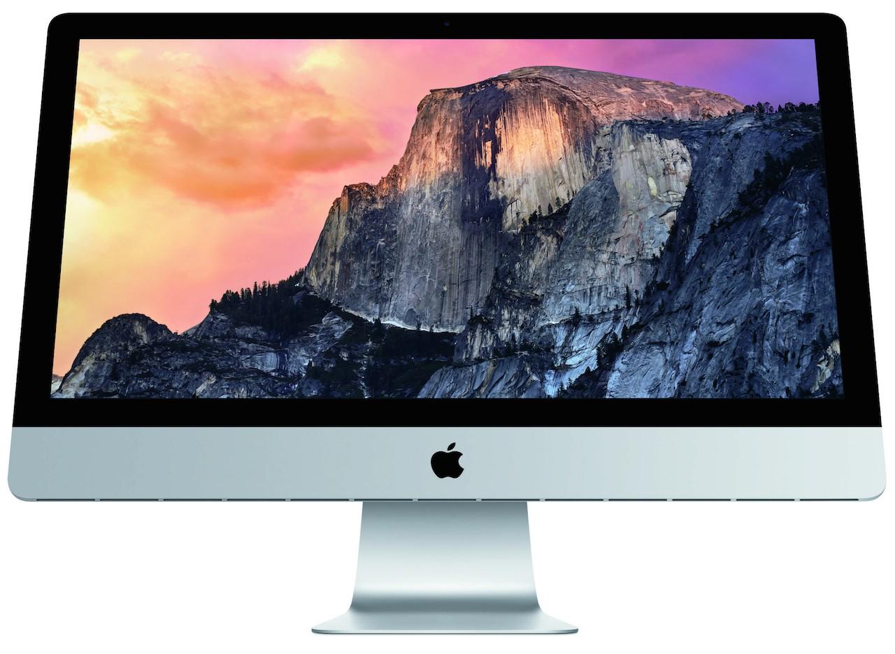 มาแล้ว MacBook Pro 15 นิ้ว พร้อม Force Touch และ iMac จอ 5K