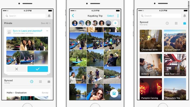 Moments แอปใหม่ใช้ AI จัดรูปภาพ