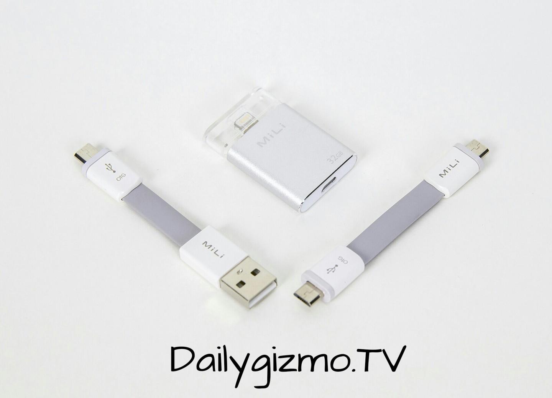 Mili iData Flash Drive แนวใหม่ที่สาวก Apple ไม่ต้องพึ่ง iTune อีกต่อไป