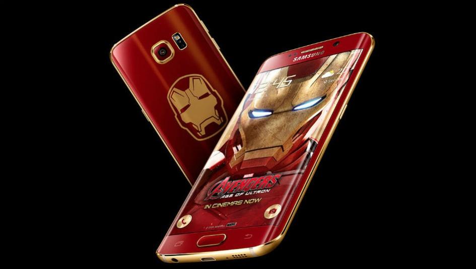 จีนรวยเว่อร์!!! ประมูล Galaxy S6 Edge เวอร์ชั่น Iron Man ไป 3 ล้านบาท