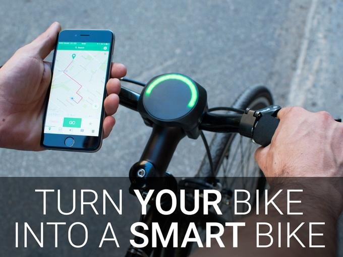 เปลี่ยนจักรยานธรรมดาให้ฉลาดขึ้น
