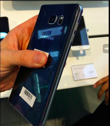 Note 5 เครื่องจริงโผล่เทียบไอโฟนถึงหน้าร้าน