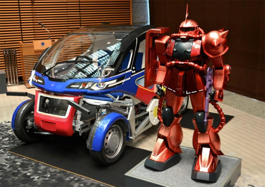 รถยนต์ Transformer จากผู้ออกแบบ Gundam