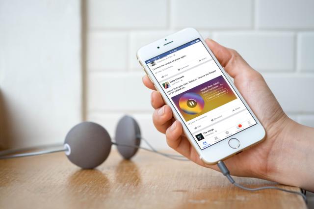 แชร์เพลง Streaming สั้นๆบน Facebook ได้แล้ว