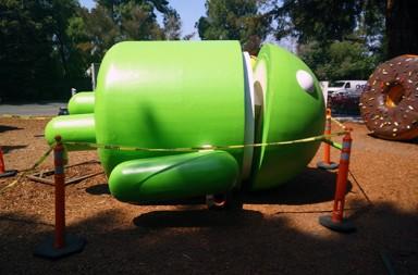 android-statue-repair