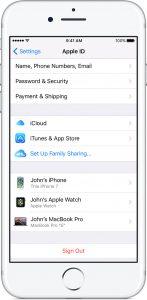 Apple ID iPhone