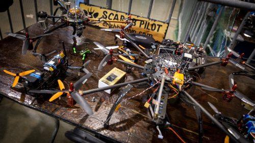 Drone fight club