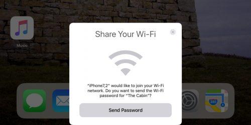 Share Wi-Fi