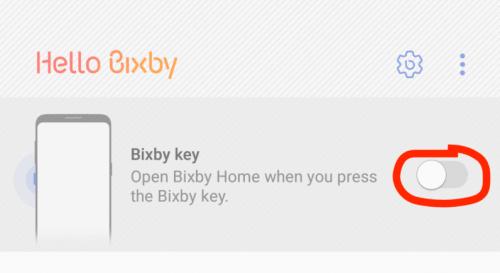 Bixby Key