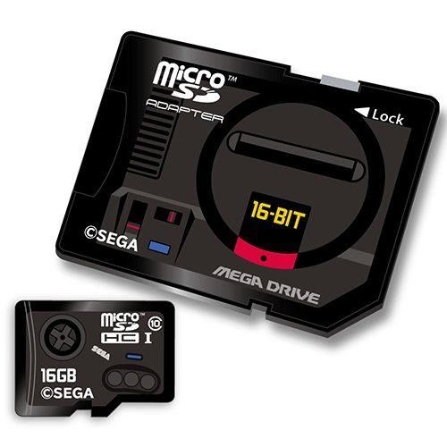 SEGA MicroSD