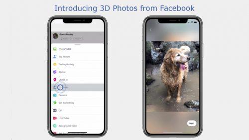 Facebbok 3D Photos