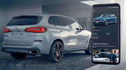 BMW Digital Keys