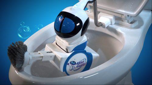 Giddel Toilet Cleaning Robot
