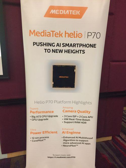 MediaTek ชู Helio P70
