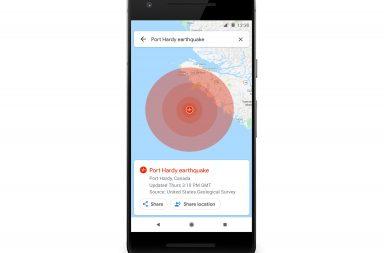 google maps sos alerts
