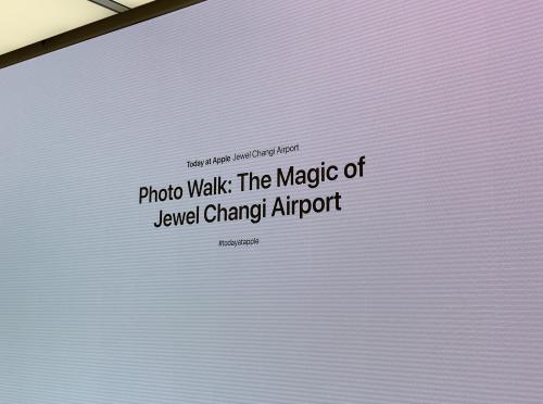 Apple Store Jewel Changi Airport