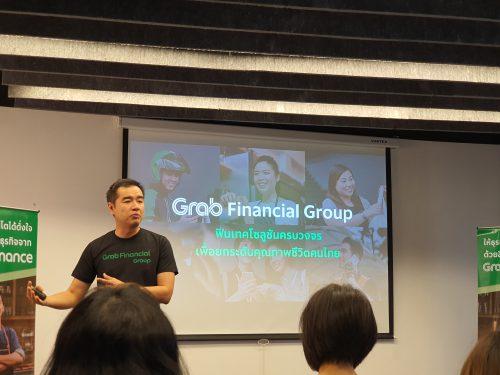 Grab finance